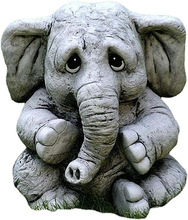 5 popular FANMIE Elephant Statue Lucky Philadelphia Mall for Figurines Collectible