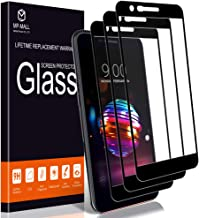 [3-Pack] MP-MALL Screen Protector for LG K10 2018 / LG K30, [Tempered Glass][Full Cover] with Lifetime Replacement Warranty