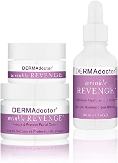 DERMAdoctor Wrinkle Revenge Anti-Aging Trio with Serum