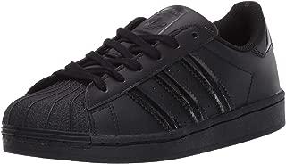 adidas Originals Kid's Superstar Sneaker, Black/Core Black/Black, 11K