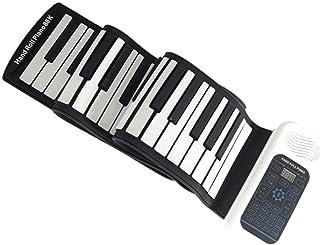 Home Smart Pianos Midi Piano 88 Key Hand Roll Piano Foldable Travel MIDI Keyboards Digital Practice Piano (Color : 61 key)