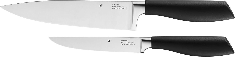 WMF Messerset 2-teilig Elements 2 Messer Küchenmesser Kochmesser Zubereitungsmesser B007BBN51C B007BBN51C B007BBN51C 70a6b0