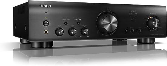 DENON PMA-800 - Amplificador estéreo, Color Negro