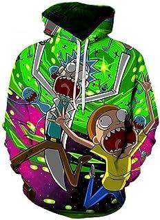 2ee075d6c402 Amazon.com  Cartoon - Hoodies   Men  Clothing