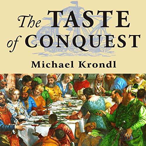 The Taste of Conquest audiobook cover art
