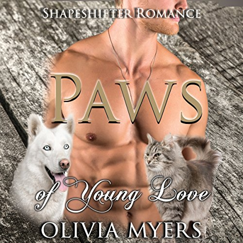 Paws of Young Love audiobook cover art
