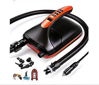 Runto adaptadores de bomba de aire de sup eléctrico 20psi 12v inflables Bomba digital con preestablecido PSI Auto Apagado para rápido inflable tabla de remo de coche kayak accesorios de barco