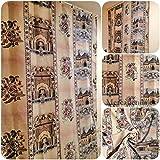 Mercatienda.es Cortinas de Calle Alhambra alpujarras de travillas, para Interior y Exterior del Hogar.