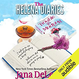 The Helena Diaries - Trouble in Mudbug audiobook cover art
