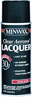 12.25 Oz Clear Brushing Lacquer Spray Gloss [Set of 6]