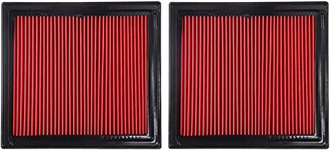 Hoypeyfiy For NISSAN/INFINITI Set of 2 Engine Air Filter 16546JK20A EX35 G37 Q60 370Z
