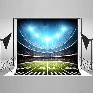 Kate 7x5ft Football Field Backdrops Sports Photography Backdrops Soccer Stadium Background Microfiber Photo Studio Props