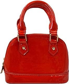 red top handle bag