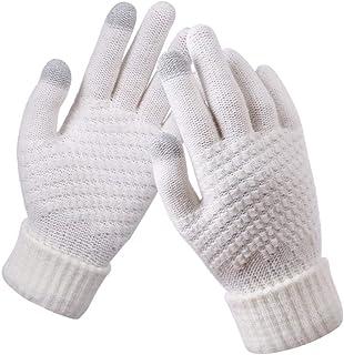1 Pair Women's Glove PU Leather Suede Velvet Winter Driving Gloves Rabbit Fur Warm Outdoor Touch Screen Bow Gloves Mittens Women's Gloves