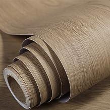 3d الخشب الحبوب خلفيات ملصقات ذاتية اللصق للجدران للماء خزانة خزانة باب الأثاث تجديد ملصقا(Size:80CM*1M,Color: #13-Arbor)