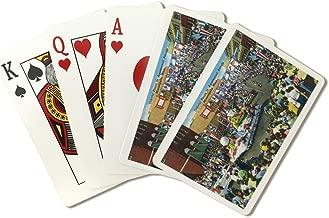 Minneapolis, Minnesota - Aquatennial Parade, Colorful Floats (Playing Card Deck - 52 Card Poker Size with Jokers)