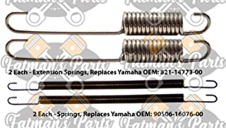Exhaust Spring Replacement Kit used for Yamaha GP338 GP433 Exciter 340 440 Snowmobile