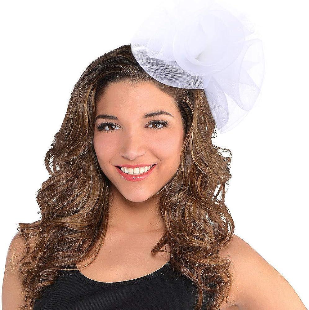FORBUSITE Fascinators Hats 50s 20s Women Pillbox Hat Cocktail Tea Party Church Hat