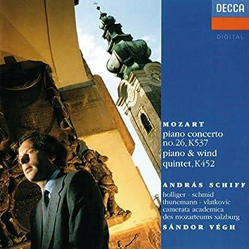 "Mozart: Piano Concerto No. 26 ""Coronation""; Piano And Wind Quintet"