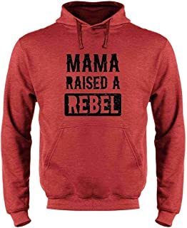 Mama Raised A Rebel Mother's Day Sweatshirt Hoodies for Men