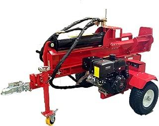Samson Machinery 50 Ton 15HP Gas Powered 18GPM Hydraulic Log Wood Splitter Cutter w/Electric Start