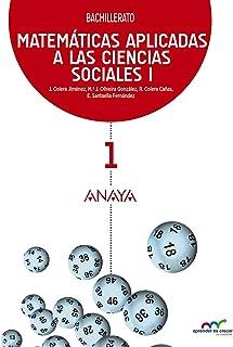 Matemáticas aplicadas a las Ciencias Sociales I. (Aprender