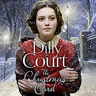 The Christmas Card                   By:                                                                                                                                 Dilly Court                               Narrated by:                                                                                                                                 Annie Aldington                      Length: 11 hrs and 1 min     134 ratings     Overall 4.6