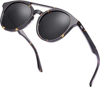 Carfia Vintage Polarized Sunglasses for Women Men Classic...