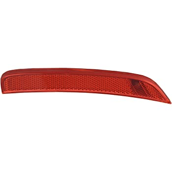 TYC 17-5376-00-9 Fiat 500 Front Left Replacement Reflex Reflector