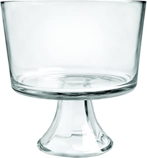 Anchor Hocking Presence Trifle Footed Dessert Bowl, Crystal clear glass - 86777L13
