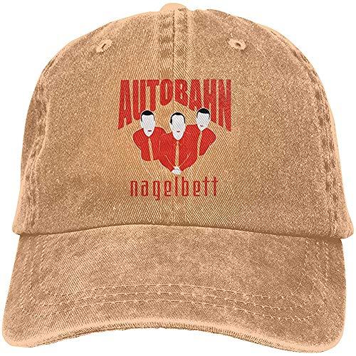 Fantasy Town Jeans Hut Autobahn Nagelbett Baseball Cap Sportkappe Adult Trucker Hat Mesh Cap