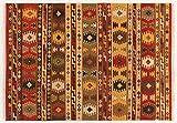 ABC Kilim Sivas 3 Tappeto, Rosso/Multicolore, 200x300