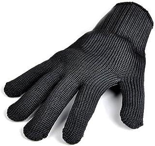 Remylady® - Guante profesional para barbacoa y parrilla de horno, guantes de protección contra el calor, color negro