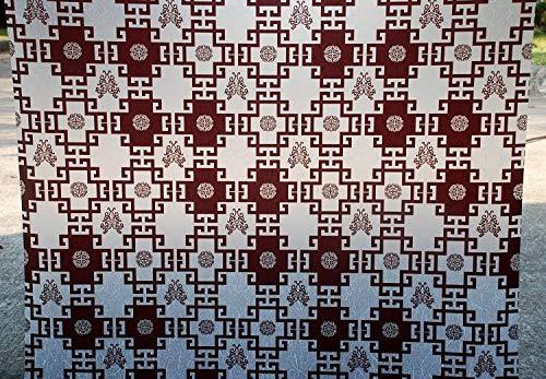 Vidrio Autoadhesivo estático de bambú de PVC Adhesivo de privacidad Opaco Anti-Ultravioleta película de decoración del hogar H 50x100cm