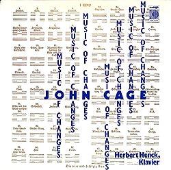 易の音楽(W.GERMANY WERGO ORIGINAL,WER60099)(長岡鉄男の外盤A級)[ジョン・ケージ][LP盤]