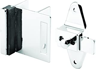Sentry Supply 656-6950 Door Latch Set, 1-1/4 Inch, Pilaster, Zamak, Chrome, Inswing, Square, Pack of 1 Kit