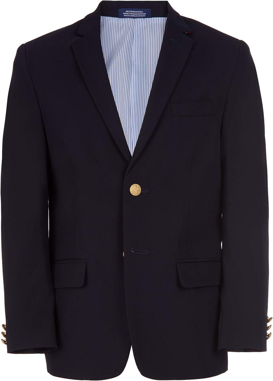 IZOD Boys' Brass Button Blazer Jacket