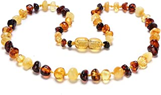 Amber Necklace - Certified Genuine Baltic Amber Necklace