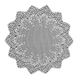 Heritage Lace Blossom 42-Inch Round Table Topper, Ecru