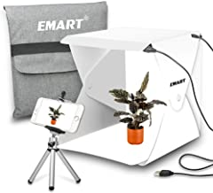 Emart Portable Studio Photo Box, 40 LED Foldable Mini Table Top Shooting Tent Kit for Product Photography