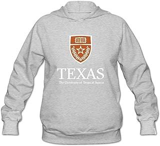 Women's University Of Texas At Austin Logo Lightweight Hoodie Black
