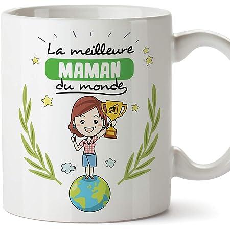 BELLE MAMAN-Céramique Voyage Tasse//Mug-Double Paroi-Neuf
