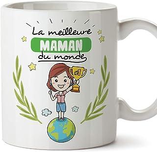 MUGFFINS Mère Tasses Originales de café et Petit-déjeuner à Donner Maman -La..
