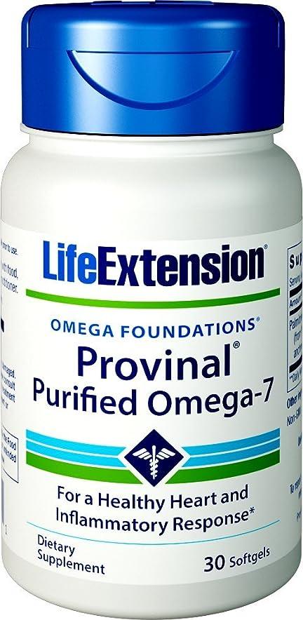 ブラジャーアイロニーひばりLife Extension - PROVINAL? Purified Omega-7 - 30??????? 海外直送品