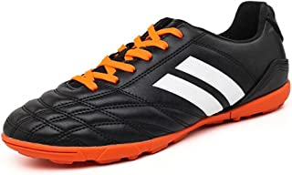 YING LAN Men's Boys Turf Cleats Soccer Athletic Football Outdoor/Indoor Sports Running Walking Shoes TF