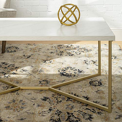Walker-Edison-Furniture-Company-Mid-Century-Modern-Marble-Gold-Rectangle-Coffee-Table