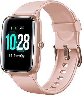 "Arbily Smartwatch, Reloj Inteligente Impermeable IP68 con Pantalla Táctil Grande de 1,3""a Todo Color Seguimiento Fitness c..."