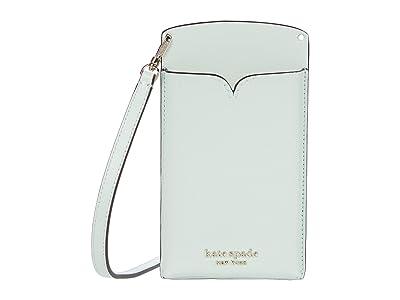 Kate Spade New York Spencer Slim Crossbody (Crystal Blue) Handbags