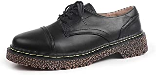 女性のローファー靴カジュアルビンテージ靴カレッジスタイル文学靴秋
