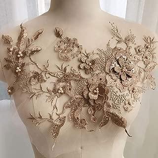Indumento fai da te decorazione abbellimento Fiore Perline indumento Perline imitazione perla